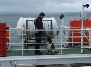 Lochranza ferry